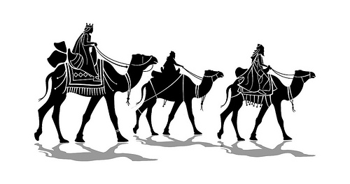 Three Kings Vector Illustration