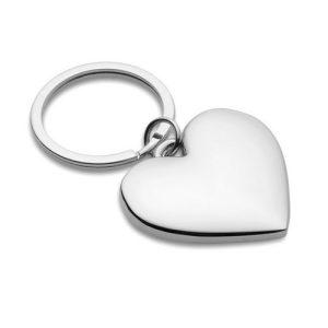 Llavero personalizado corazon