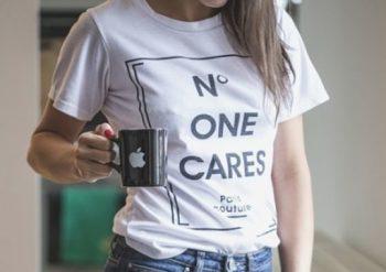 camiseta con mensajes